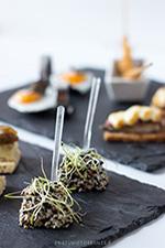 Gastronomia del restaurante para eventos SantLlei